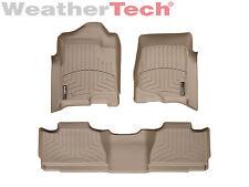 WeatherTech DigitalFit FloorLiner - 2007-2013 - Chevrolet Avalanche - Tan