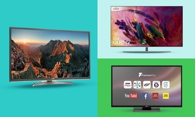Top Brand TVs from £129.99