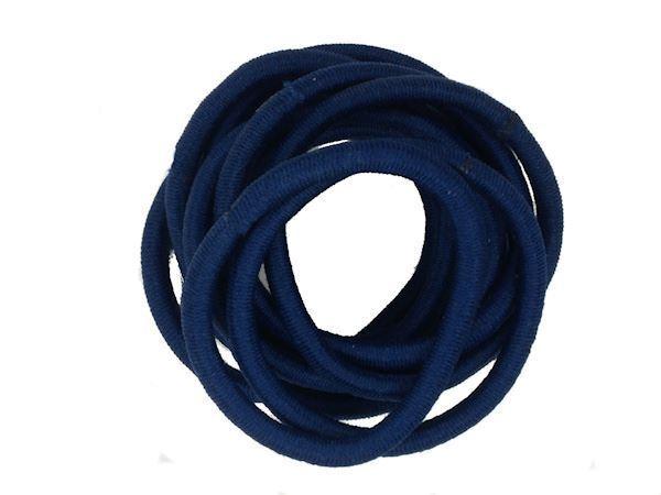 Navy Blue Snag Hairband Hair Elastics School Bobbles No Metal for ... 16663b7125f