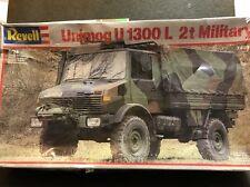 revell 1/24 7499 unimog U 1300 I. 2t military rare model kit sealed