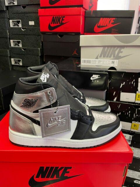 Authentic Jordan 1 Retro High Silver Toe (W) CD0461 001