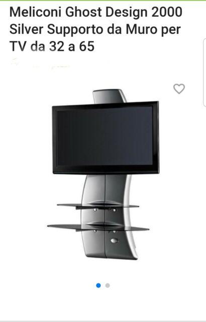 Meliconi Porta Tv Ghost Design 2000.Supporti Tv Meliconi Ghost 2000 Staffe Acquisti Online Su Ebay
