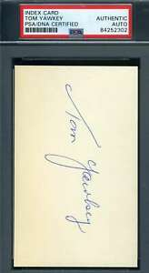 Tom-Yawkey-PSA-DNA-Coa-Autograph-Hand-Signed-3x5-Index-Card