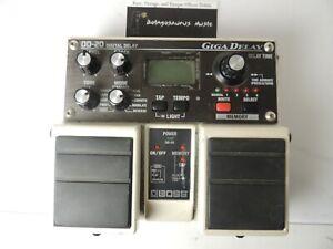 Boss DD-20 Digital Giga Delay Effects Pedal Free US S&H