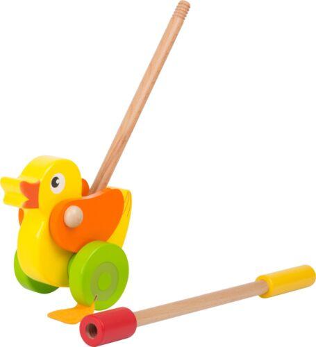 Schiebe Ente ab 18 Monate Holzspielzeug