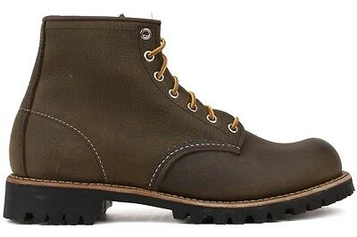 Red Wing Heritage Roughneck 02947-0 New Mens Olive Brown Lifestyle Work Boots