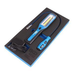Akku Arbeitslampe COB LED Handlampe mit LED Magnetheber Lampe Werkzeug Einlage