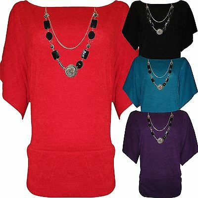 WOMENS LADIES GREY PRINT KNITTED CASUAL BATWING SLEEVE TUNIC TOP PLUS SIZE 8-26