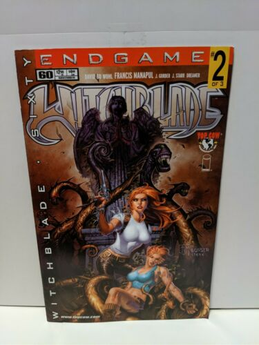 Witchblade #61 February 2003 Top Cow Image Comics Wohl Manapul Gorder Fichow