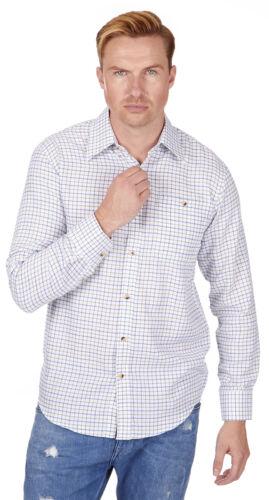 Baum Country Mens Tattersall Check Long Sleeve Shirt