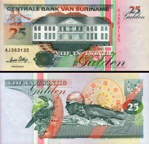 Suriname-25-Gulden-1996-Fds-UNC