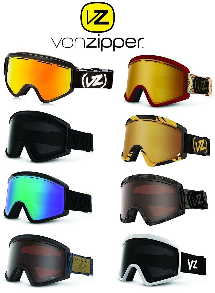 VONZIPPER CLEAVER  ADULT SKI   SNOWBOARD  GOGGLES, MULTIPLE COLORS  BRAND NEW   100% brand new with original quality