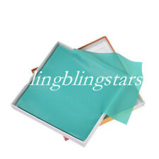 52 Pcskit Dental Rubber Dam Sheets Pure Latex Dura Dam Green Small Size 55