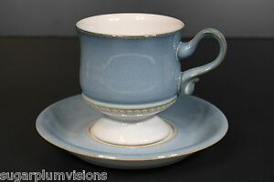 Details about Denby CASTILE Coffee Cup and Saucer Excellent