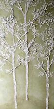 Stencil,Plaster Stencil, Large Sapling Tree Wall Stencil, Furniture Stencil