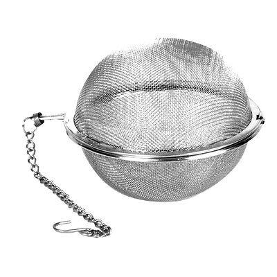 """1 Piece Winco Mesh Tea Ball Teaball Spice Infuser 2"""" (5cm)  Pot Kattle STB-5"""