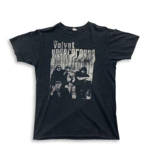 VTG 90's Velvet Underground Lou Reed Black T-Shirt