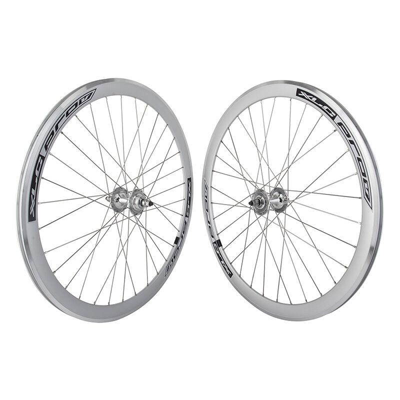 700C Alloy Fixed Gear Freewheel Double Wall Wheel Pair SL MSW - PAIR
