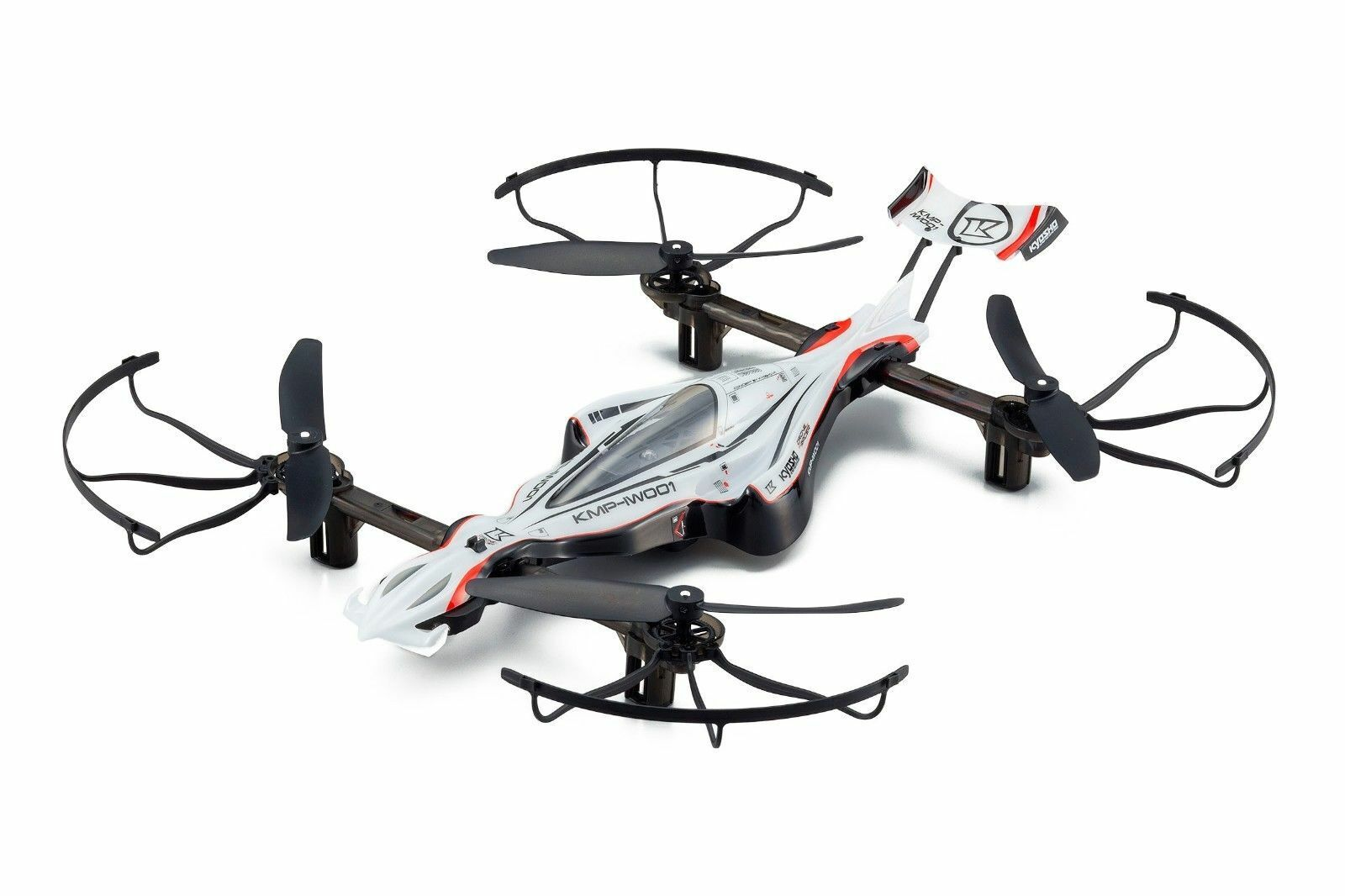 Kyosho Drone Racer G-Zero Dynamic blancoo tecnocolgía escala 1 18 - 20571W-B