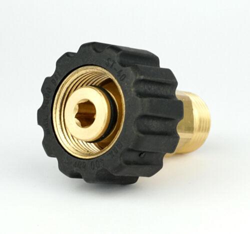 Adapter M22 x1,5 IG x M18 AG für Hochdruckreiniger Schlauch Lanze Pistole