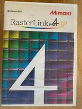 Mimaki Rasterlink 4 Rip Software With Dongle In Original Box