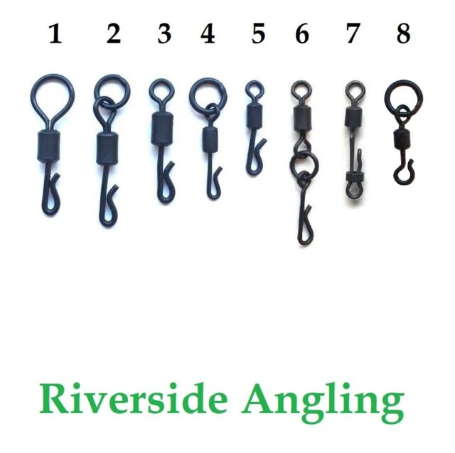 Big Eye Swivel Size 11 x20 Carp Fishing End Tackle Tackle Rigs