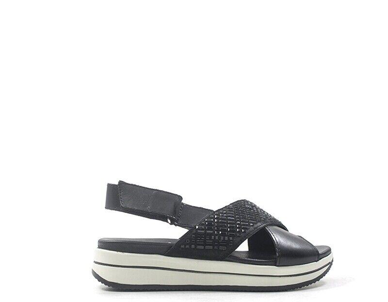 Chaussures Camila Femme noir Nature Cuir cam10793.bl.02