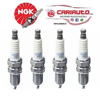 4 candele NGK 1691 ZKR7A-10 NGK PANDA PUNTO 500 GRANDE PUNTO BZ GPL