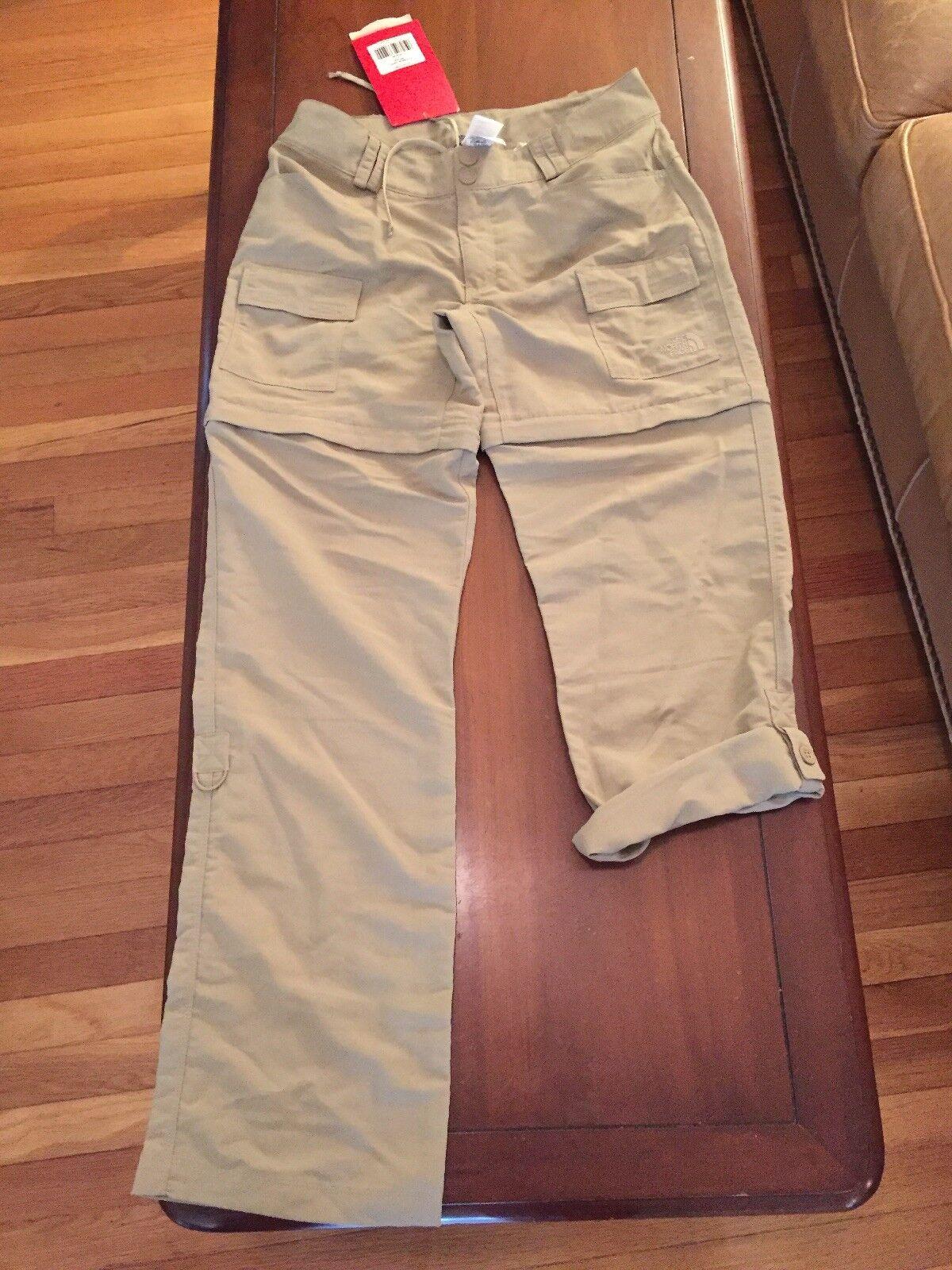 The North Face Paramount Porter Converdeible Pantalones Para Mujer  Dune Beige 6 Nuevo con etiquetas  protección post-venta