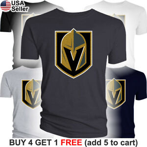 8b79f8d3f63 Image is loading Las-Vegas-Golden-Knights-T-Shirt-Logo-LV-