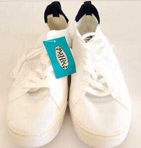 7b75a4ff3e Women's Mad Love Vashni Lace up Knit Sneakers - White | eBay