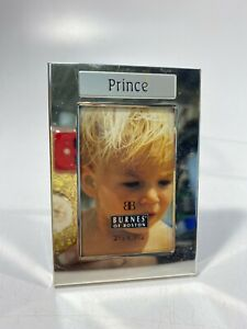 "Burnes Of Boston ""Prince"" Frame Chrome 2.5"" X 3.5"" - NOS!"