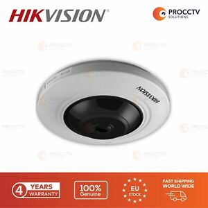 Hikvision Fish Eye Camera DS-2CD2955FWD-IS F2.2, 5MP, H.265 Micro SD slot, PoE