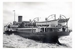 rp4644-GSN-Paddle-Steamer-Crested-Eagle-built-1925-photograph-6x4