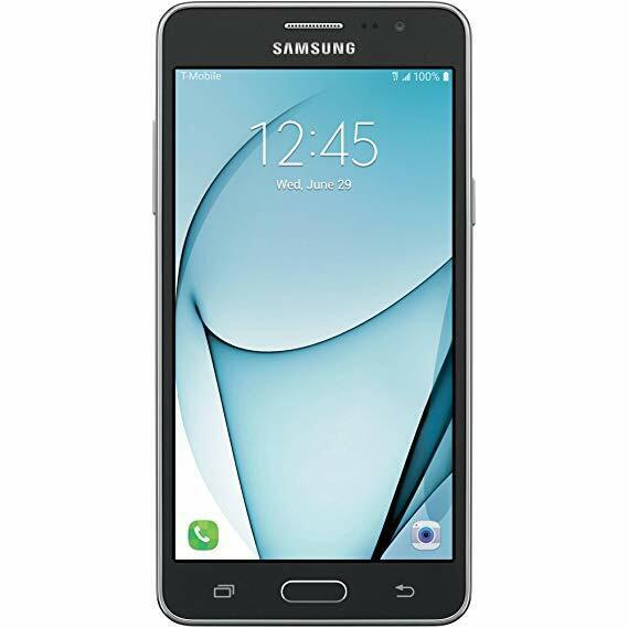 Samsung Galaxy On5 Sm G550t 8gb Black T Mobile Smartphone For Sale Online Ebay