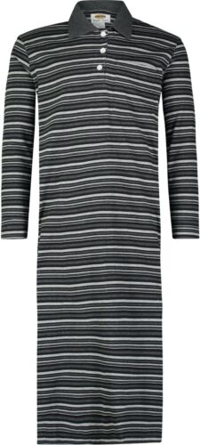 Loungewear Pajamas Nightgown Men/'s 100/% Cotton Knit Long Nightshirt Nightwear
