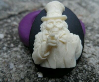 Gothic Zombie uncle Sam Cameo  Silicone push mold polymer clay resin SUGAR CRAFT