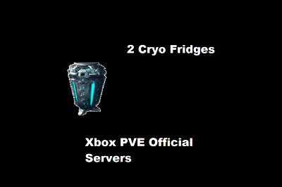 Ark Survival Evolved 2 CryoFridges PVE Xbox ONE Official SERVERS | eBay