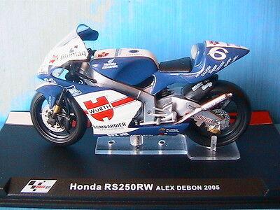 MOTO GP 1//24 SERIE 2 HONDA RS 250 RW ALEX DEBON 2005