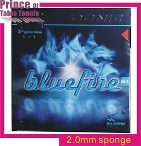Donic Blue Fire M2 Table tennis Pimples in Rubber (2.0mm sponge)