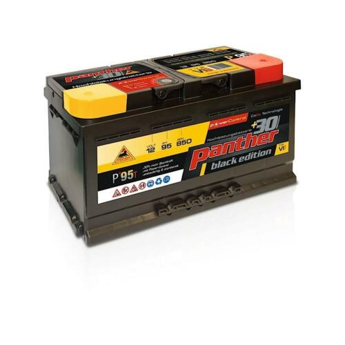 Batterie für PKW Panther Batterie +95T 12V95Ah Autobatterie 94Ah Ampere 93Ah