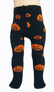 "Halloween Fair Isle Leggings for 18/"" American Girl Doll Clothes HANDMADE PUMPKIN"