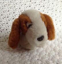 "Hush Puppies Dog Plush 3.5"" Tiny Stuffed Animal Basset Hound Baby Puppy Brown"