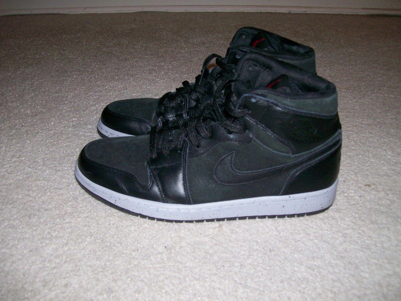 7fda155a0ff71b SZ 10 Nike Air Jordan 1 High NYC 23NY 23NY 23NY 715060 002 Oreo XI IV Royal  Bred Shadow X 27762c
