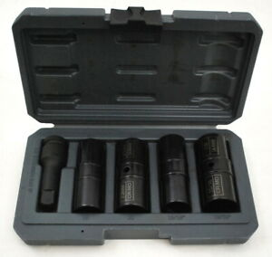 ARES-59010-1-2-inch-Drive-5-Piece-Flip-Lug-Nut-Socket-Set