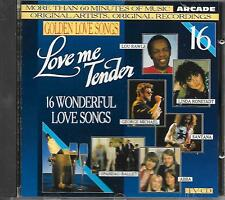 V/A - Golden Love Songs VOLUME 16 CD 16TR (ARCADE) 1989 George Michael ABBA