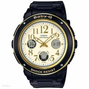 ce1113600f60 Casio Baby-G Womens Watch BGA151EF-1B BGA-151EF-1BDR Black Gold ...