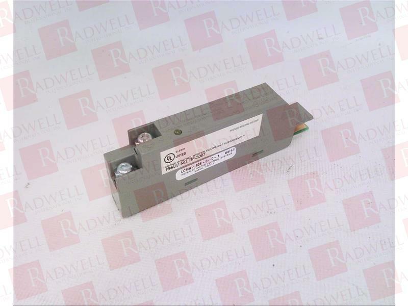 INVENSYS LCMA-106-0-0-1   LCMA106001 (NEW NO BOX)