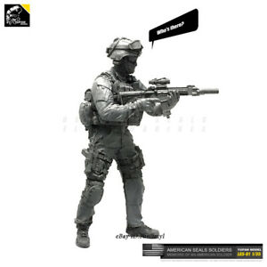 1-35-US-SEAL-soldier-Resin-Kits-Unpainted-Figure-GK-YUFAN-Model