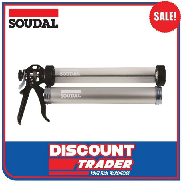 Soudal Heavy Duty Trade Sausage Caulking Gun 600ml 112802